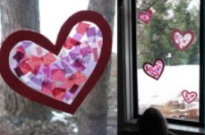 Create With Christa: Stained Glass Hearts