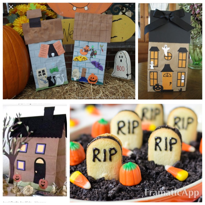 Paper Bag Haunted Houses - Create with Christa