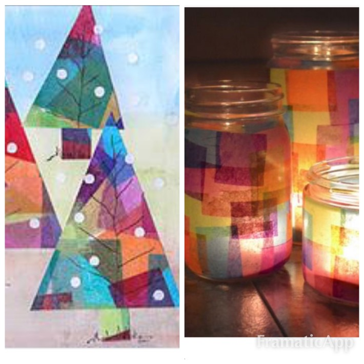 Holiday Trees and Candles Create with Christa