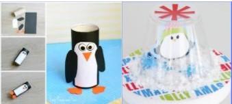 Create With Christa: Penguin Snow Globe