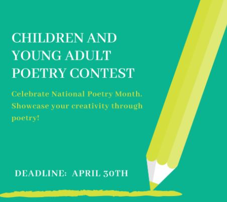 15th Annual Poetry Contest for Children and Young Adults