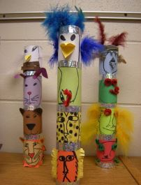 Create With Christa: Totem Pole Building
