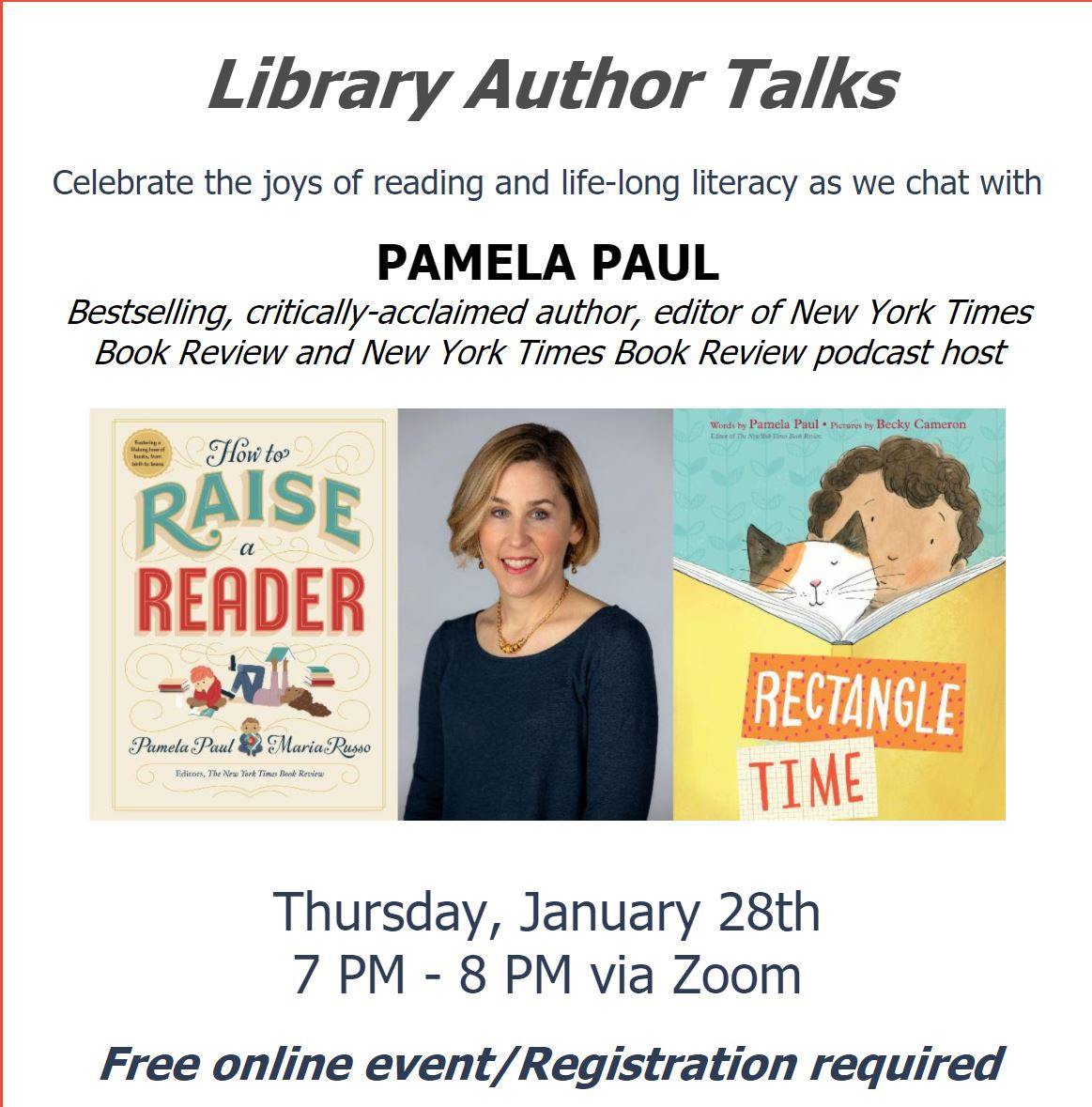 Westchester Library System Author Talk