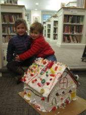 Candy Houses at the Library