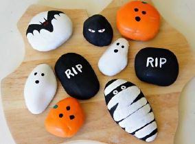 Create with Christa: Halloween Rock Painting Grab & Go