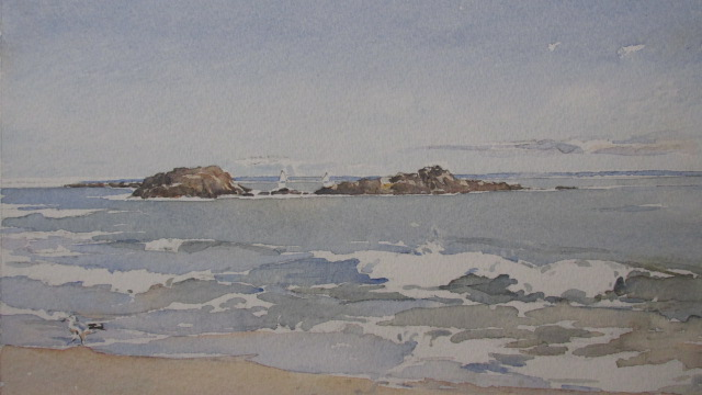 Adult Watercolor Landscape Workshop