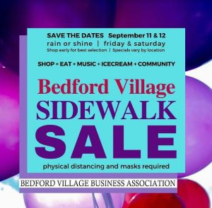 Bedford Village Sidewalk Sale Days